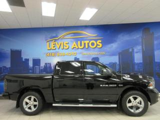 Used 2012 RAM 1500 SPORT CREW CAB GPS TOIT OUVRANT BANC VEN for sale in Lévis, QC