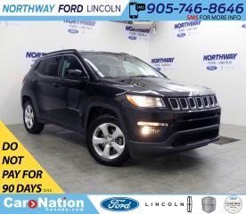Used 2018 Jeep Compass North | 4x4 | LEATHER | PUSH START | AUX+USB | for sale in Brantford, ON