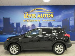 Used 2015 Toyota RAV4 LIMITED AWD CUIR TOIT OUVRANT GPS CAMÉRA for sale in Lévis, QC