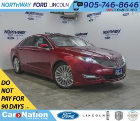 Used 2013 Lincoln MKZ   HTD LEATHER   B/U CAM   PUSH START   SELECT PKG for sale in Brantford, ON