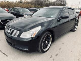 Used 2008 Infiniti G35 Sport / Clean Title / Low Mileage for sale in Pickering, ON