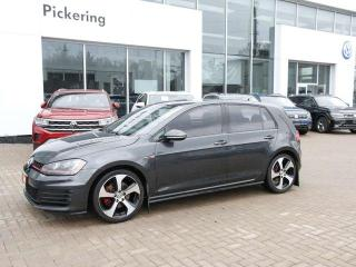 Used 2015 Volkswagen Golf GTI AUTOBAHN! MANUAL + LOADED for sale in Pickering, ON