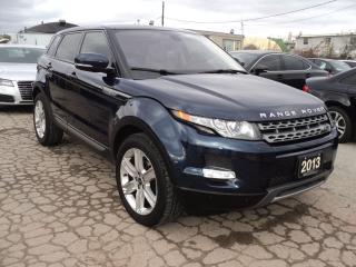 Used 2013 Range Rover Evoque Pure Premium PANORAMIC ROOF NAVIGATION CAMERA for sale in Oakville, ON