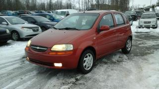 Used 2005 Chevrolet Aveo Familiale 5 portes LS for sale in Sherbrooke, QC