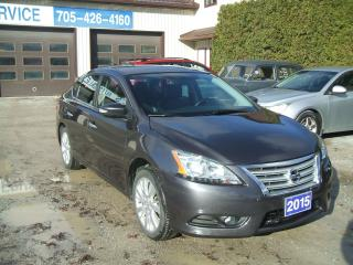 Used 2015 Nissan Sentra SL for sale in Beaverton, ON