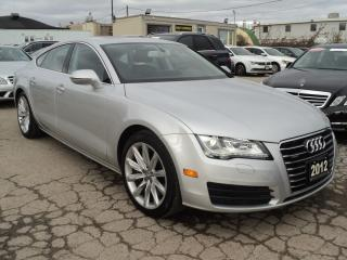 Used 2012 Audi A7 3.0 Premium,NAVIGATION for sale in Oakville, ON