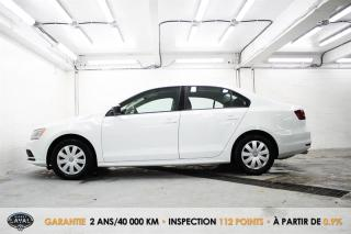 Used 2017 Volkswagen Jetta Manuelle Trendline1.4 TSI + Caméra + Bluetooth for sale in Québec, QC