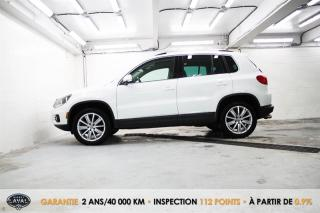Used 2017 Volkswagen Tiguan 4MOTION + Comfortline + Keyless + Bluetooth for sale in Québec, QC
