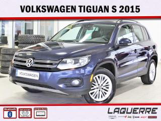 Used 2015 Volkswagen Tiguan S for sale in Victoriaville, QC