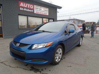 Used 2012 Honda Civic LX for sale in St-Hubert, QC