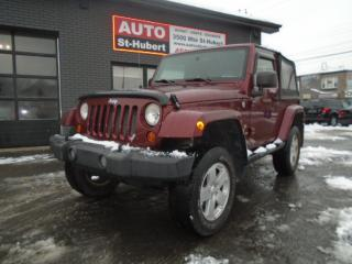 Used 2007 Jeep Wrangler Sahara for sale in St-Hubert, QC