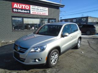 Used 2009 Volkswagen Tiguan TREDLINE for sale in St-Hubert, QC