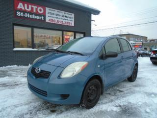 Used 2007 Toyota Yaris LE HATCH for sale in St-Hubert, QC