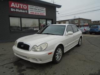 Used 2003 Hyundai Sonata GL for sale in St-Hubert, QC