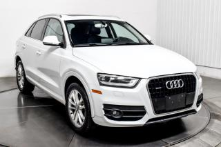 Used 2015 Audi Q3 COMFORTLINE QUATTRO CUIR TOIT PANO MAGS for sale in Île-Perrot, QC