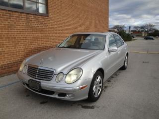 Used 2004 Mercedes-Benz E-Class 3.2L for sale in Oakville, ON