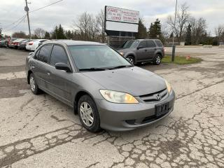 Used 2005 Honda Civic SE for sale in Komoka, ON
