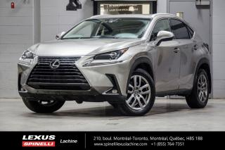Used 2018 Lexus NX PREMIUM AWD; CUIR TOIT CAMERA ANGLES MORTS LSS+ TOIT-OUVRANT - CAMÉRA DE RECUL - MONITEUR ANGLES MORTS - VOLANT CHAUFFANT - HAYON ASSISTÉ for sale in Lachine, QC