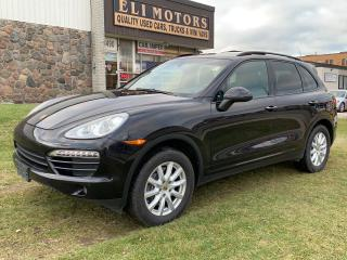 Used 2014 Porsche Cayenne PLATINUM EDITION AWD NAVIGATION  REAR CAMERA  BLUETOOTH ALLOYS for sale in North York, ON