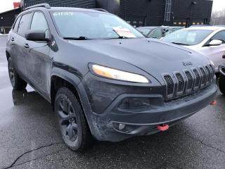 Used 2015 Jeep Cherokee TRAILHAWK V6 4X4 CUIR TOIT NAV for sale in Île-Perrot, QC