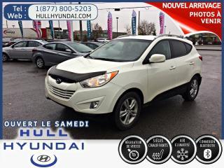 Used 2012 Hyundai Tucson GL, bluetooth, siège chauff., TRÈS BAS KM for sale in Gatineau, QC