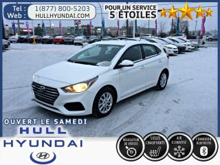 Used 2019 Hyundai Accent Preferred, Apple car play, caméra, sièges chauff. for sale in Gatineau, QC