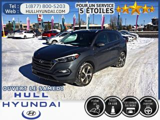 Used 2016 Hyundai Tucson 1.6TURBO AWD, Limited, WOW CUIR, TOIT PANO!! for sale in Gatineau, QC