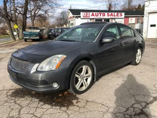 Used 2005 Nissan Maxima Automatic/Leather/Roof/AS IS Special for sale in Scarborough, ON