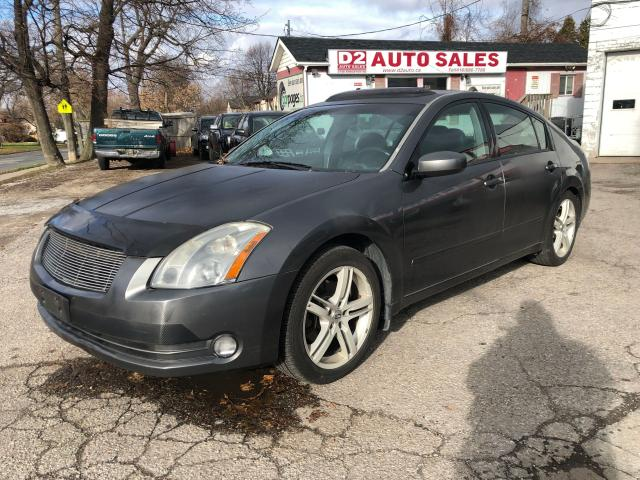 2005 Nissan Maxima Automatic/Leather/Roof/AS IS Special