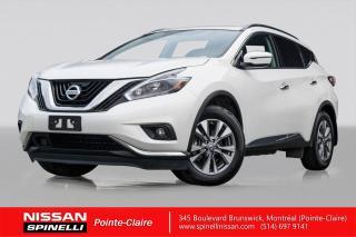 Used 2018 Nissan Murano SV AWD NAVIGATION / TOIT PANO / MAGS 18