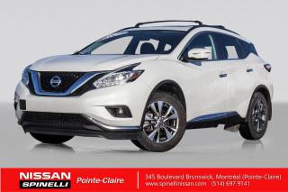Used 2015 Nissan Murano SV AWD NAVIGATION - TOIT OUVRANT PANORAMIC -  CAMERA DE RECUL - DÉMARREUR INTEGRÉ for sale in Montréal, QC