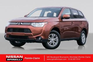 Used 2014 Mitsubishi Outlander SE 7 PASSAGERS /  AWC / V6 / DEMARREUR A DISTANCE / BLUETOOTH / GROUPE ELECTRIQUE / AIR CLIMATISE for sale in Montréal, QC