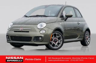 Used 2014 Fiat 500 Sport TRES BAS KM / CUIR / MAGS 16