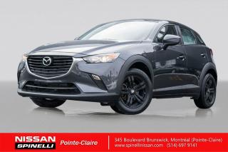 Used 2016 Mazda CX-3 GX NAVIGATION / FWD / BLUETOOTH / CAMÉRA DE RECUL / CRUISE CONTROL for sale in Montréal, QC