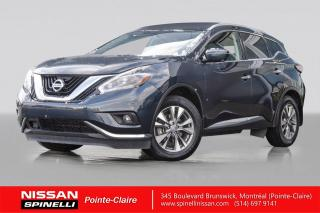 Used 2018 Nissan Murano SL AWD NAVIGATION / TOIT PANORAMIQUE / MAGS 18