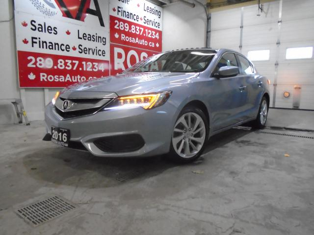 2016 Acura ILX LOW KM NO ACCIDENT LEATHER SUNROOF LINE KEEPING CO