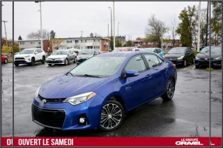 Used 2015 Toyota Corolla SPORT - BLUETOOTH - MAGS -  TOIT OUVRANT - CAM REC for sale in St-Léonard, QC