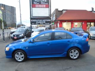 Used 2009 Mitsubishi Lancer SE/ ONE OWNER/ SPORTY / ALLOYS / NO ACCIDENT /MINT for sale in Scarborough, ON