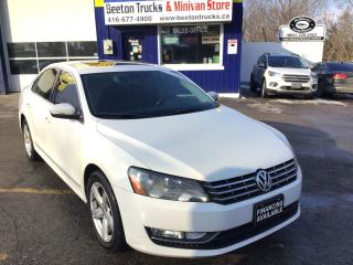 Used 2013 Volkswagen Passat INCLUDES NEW WINTER TIRES PLUS INSTILLATION for sale in Beeton, ON