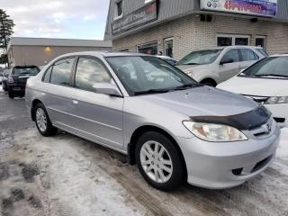 Used 2005 Honda Civic 4 portes LX-G, boîte automatique for sale in Longueuil, QC
