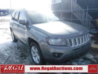 Used 2014 Jeep Compass Sport 4D Utility 4WD for sale in Calgary, AB