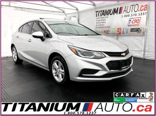Used 2017 Chevrolet Cruze LT+Hatchback+Camera+Sunroof+Bose+Heated Seats+Appl for sale in London, ON