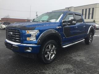 Used 2017 Ford F-150 Cab SuperCrew 4RM 157 po XLT/SPORT NAVIG for sale in Drummondville, QC