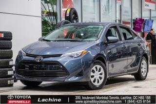 Used 2017 Toyota Corolla CE DÉMARREUR À DISTANCE! AIR CLIMATISÉ! BLUETOOTH! UN PROPRIÉTAIRE! SUPER PRIX! FAITES VITE! for sale in Lachine, QC