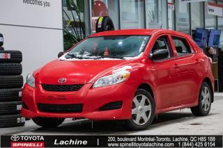 Used 2009 Toyota Matrix AIR CLIMATISÉ! PORT AUXILIAIRE! BAS KILOMÉTRAGE! SUPER PRIX! FAITES VITE! for sale in Lachine, QC