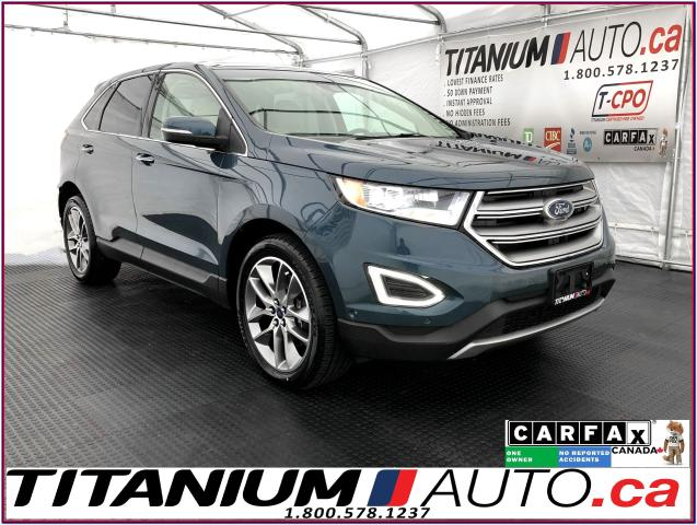 2016 Ford Edge Titanium+AWD+V6+GPS+Cooled Leather+Lane Assist+BSM