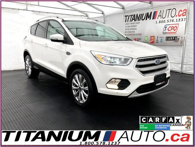 2017 Ford Escape Titanium+AWD+GPS+Lane Assist+Pano Roof+Blind Spot+