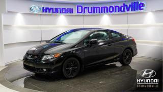 Used 2012 Honda Civic SI + GARANTIE + NAVI + TOIT + MAGS !! for sale in Drummondville, QC