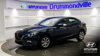 Used 2015 Mazda MAZDA3 GX + GARANTIE + A/C + KEYLESS START !! for sale in Drummondville, QC
