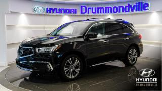 Used 2017 Acura MDX ELITE SH-AWD + GARANTIE + NAVI + WOW !! for sale in Drummondville, QC